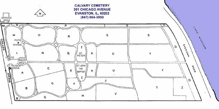 Calvary Map