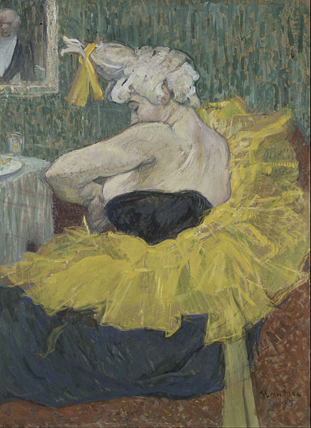 436px-Henri_de_Toulouse-Lautrec_-_The_Clown_Cha-U-Kao_-_Google_Art_Project